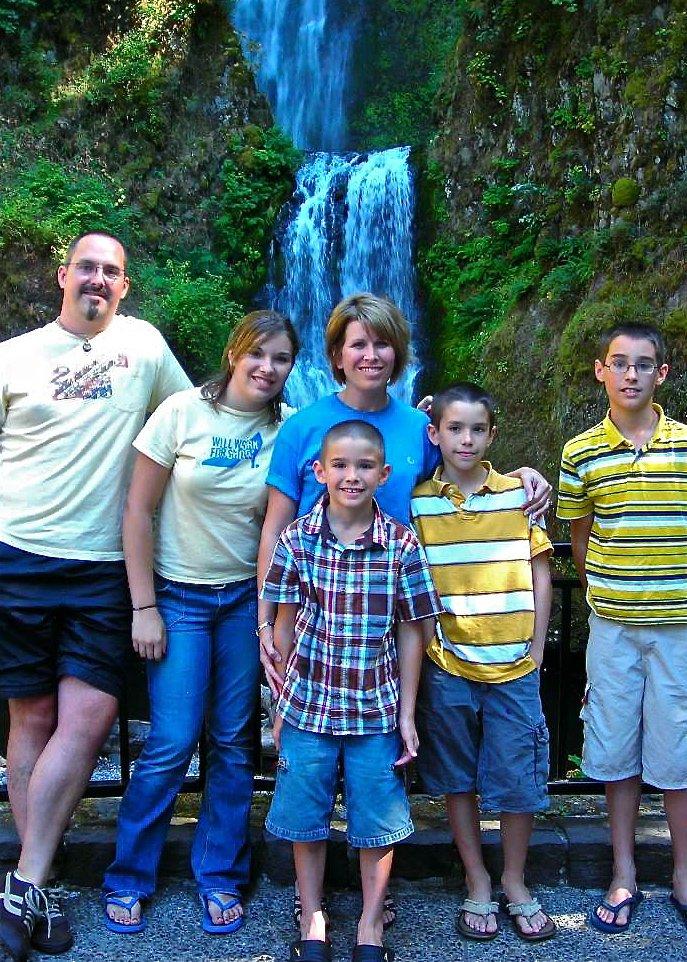 Multnomah Falls   Columbia River Gorge, OR