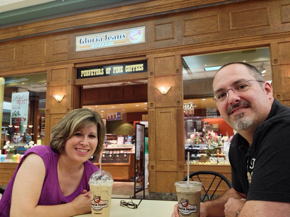 Gloria Jean's Coffee   A Favorite From Our Dating Years