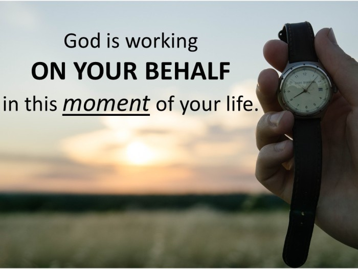 GOD working